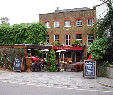 The Flask Tavern, Highgate, London, England