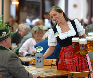 Hofbrauhaus, Munich, Germany