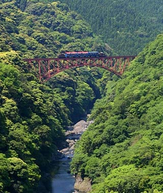 Minami Aso Railways, Aso Valley, Japan