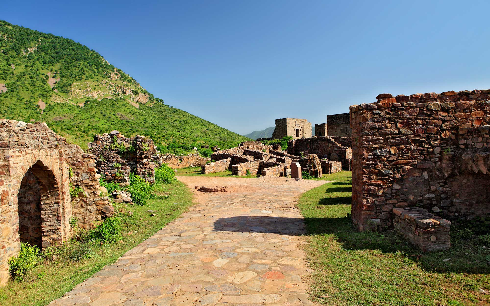 Bhangarh, India, abandoned places