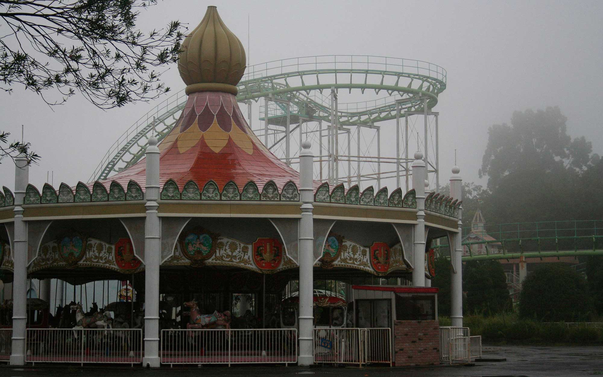 Abandoned Amusement Park, Japan, abandoned places