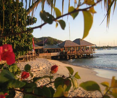 Basil's Bar Mustique, St. Vincent and The Grenadines