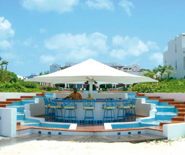 Azure Beach Bar, CuisinArt Resort & Spa, Anguilla, British West Indies