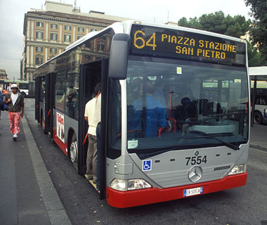 The Bus 64 Sting, Rome