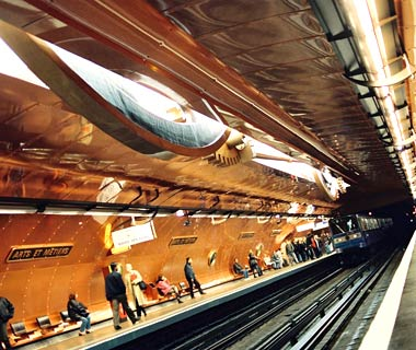 Arts et Metiers Station, Paris, France