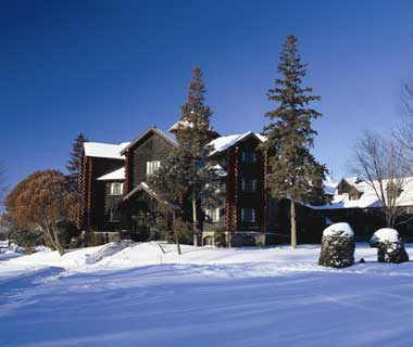 Fairmont Le Chateau Montebello, Quebec (world's largest log structure)