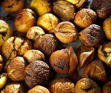 South Korea: Roasted Chestnuts