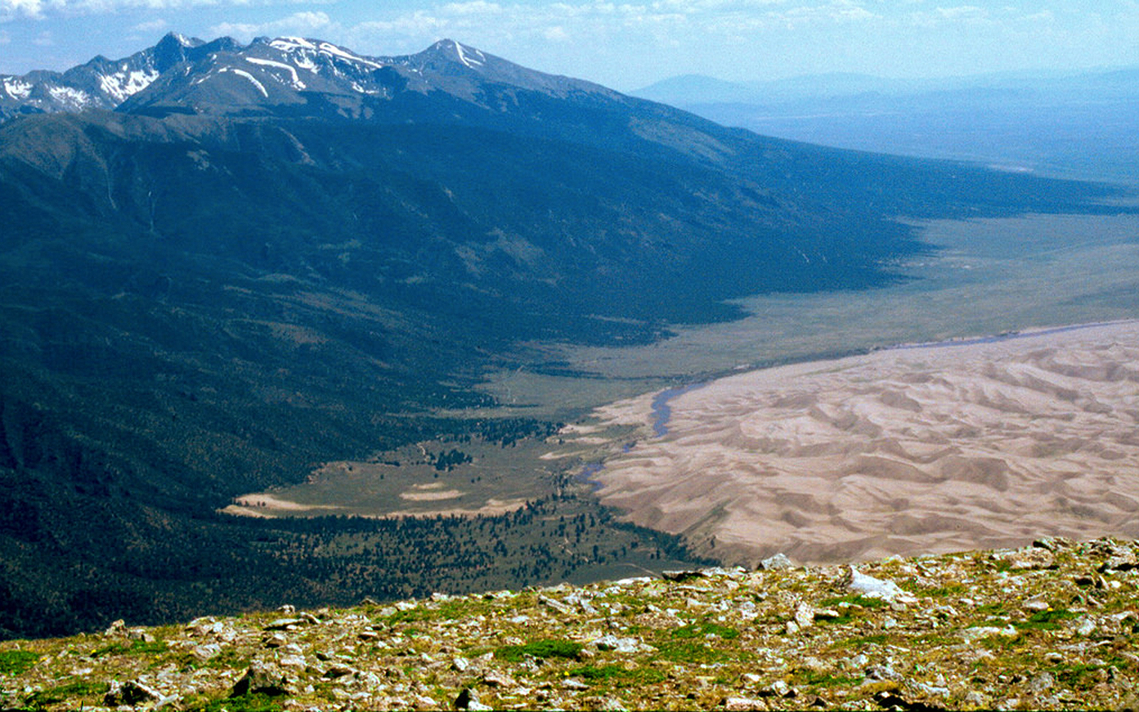 Best U.S. National Park Views: Mount Herard, Great Sand Dunes National Park