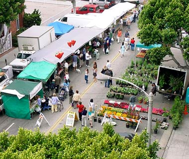 Santa Monica Farmers' Market, California