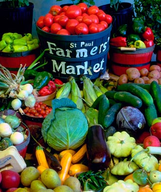 St. Paul Farmer's Market, St. Paul, Minnesota