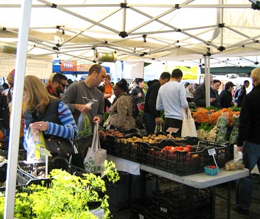 University District Farmers Market, Seattle, Washington