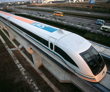 Shanghai - Pudong Int'l - Maglev Train