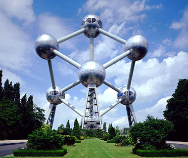The Atomium, Brussels, Belgium