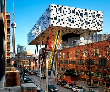Ontario College of Art and Design, Sharp Center by Will Alsop