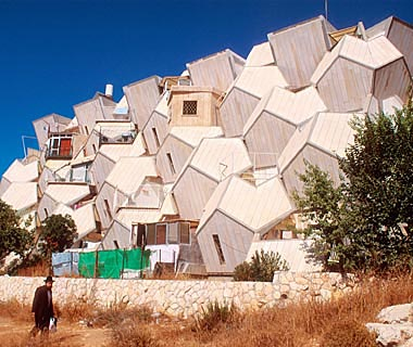 Zvi Hecker's Ramot Housing, Jerusalem