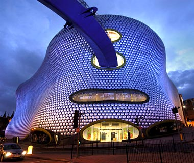 Selfridges, Birmingham by Future Systems