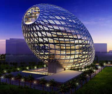 Cybertecture Egg (Mumbai, India)