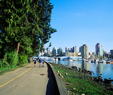 Stanley Park Seawall, Vancouver, BC