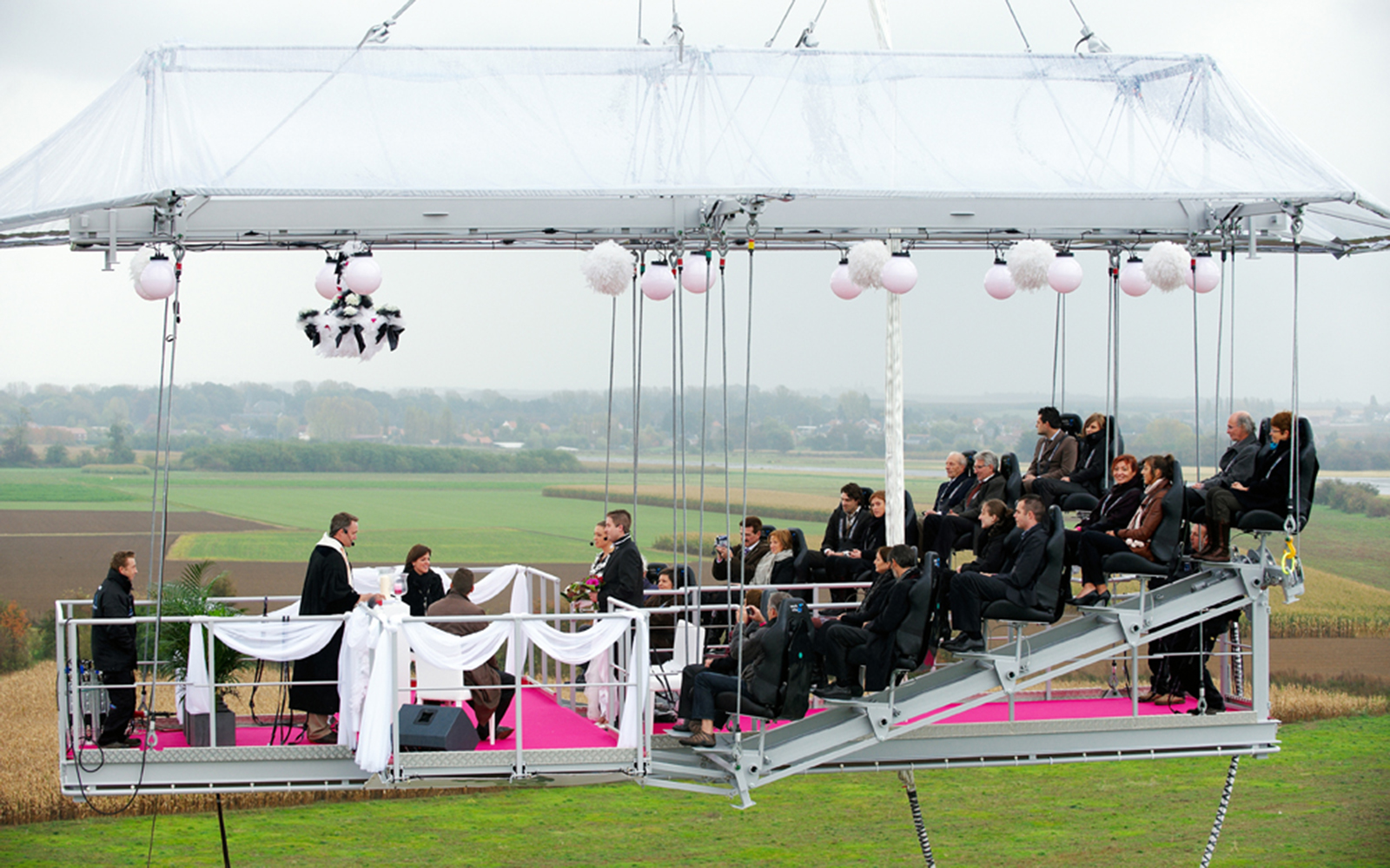 World's Strangest Places to Get Married: Mid-Air