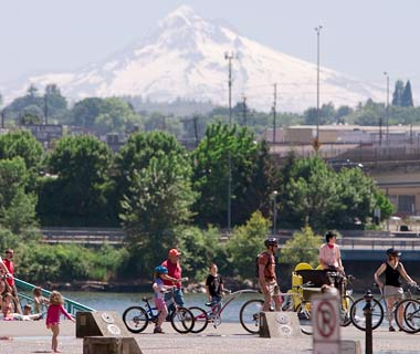 Tom McCall Waterfront Loop, Portland, OR