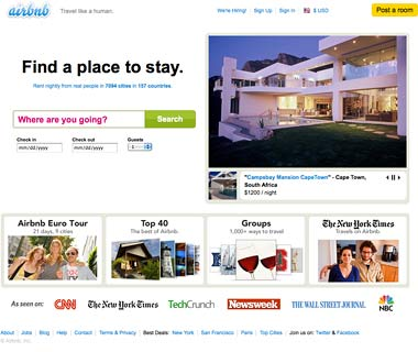 Arrange a Last-Minute Affordable Rental: AirBnB.com