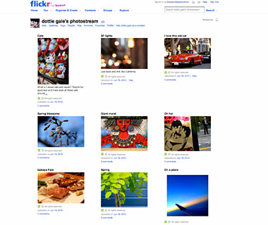 Share Your Pics: Flickr.com