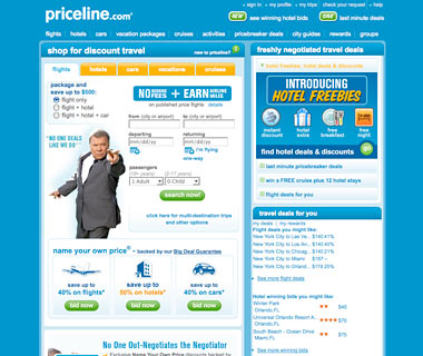 Score a Cut-Rate Room: Priceline.com