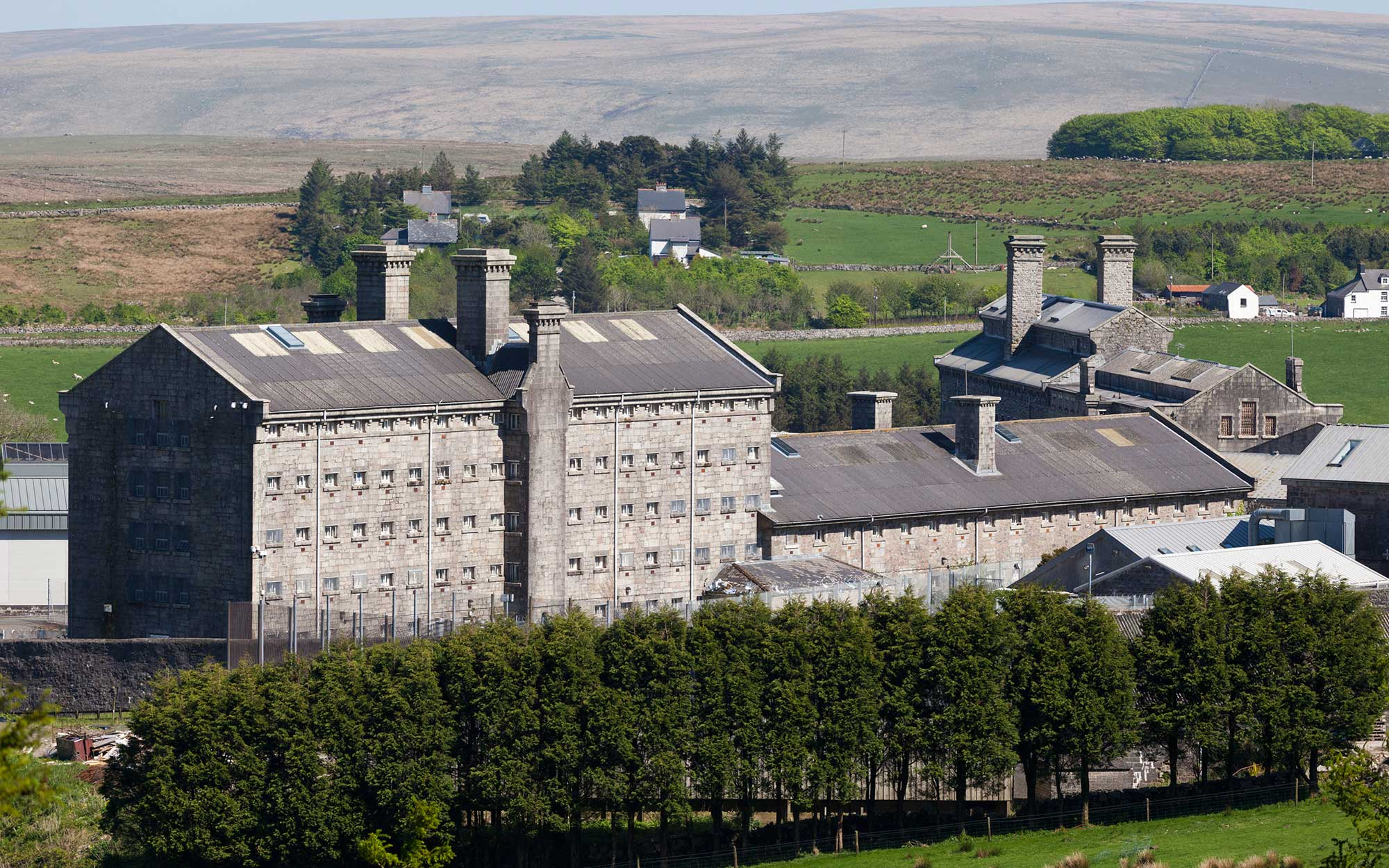 Dartmoor Prison, Devon UK