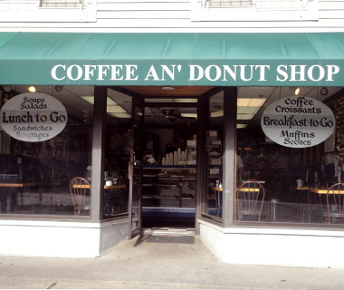 Coffee An' Donut Shop, Westport,  CT