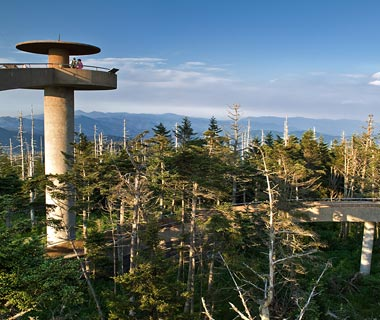Clingmans Dome, Great SmokyMountains National Park, TN