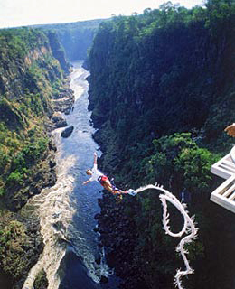 """Do-It-Yourself """"Amazing Race"""" Adventures: Victoria Falls Gorge Swing"""