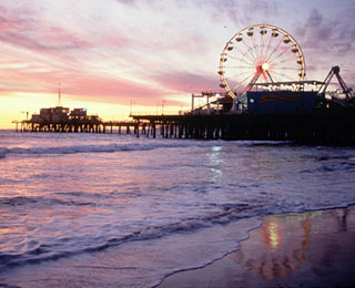 10 Great American Public Spaces: Santa Monica Beach, Santa Monica, CA