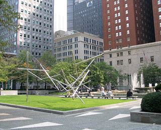 10 Great American Public Spaces: Mellon Square, Pittsburgh, PA