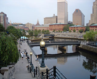 10 Great American Public Spaces: Waterplace Park, Providence, RI