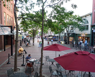 10 Great American Public Spaces: Church Street Marketplace, Burlington, VT