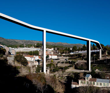 Pedestrian Bridge in Covilha, Portugal