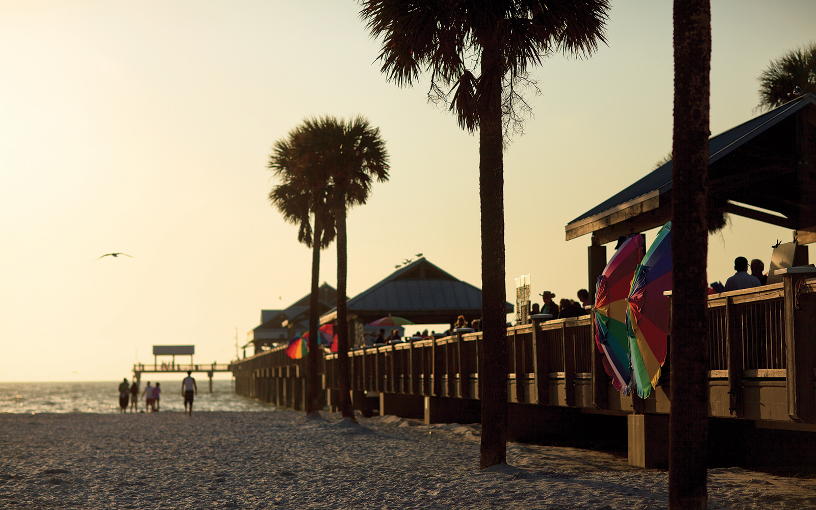 sunset from Clearwater Beach's Pier 60