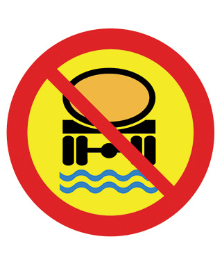 No Transport of Water Pollutant