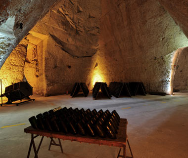 Caves de la Veuve Clicquot, Reims, France