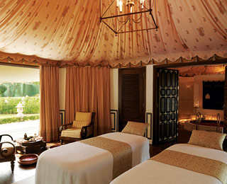 World's Best Tented Camps: Rambagh Palace