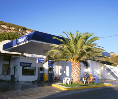 Athens gas station