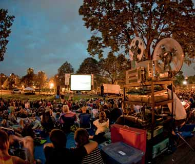 Summer Music & Movies at Loring Park