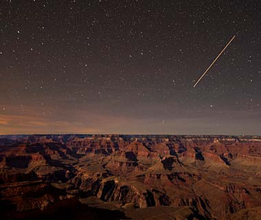 Grand Canyon in the dark