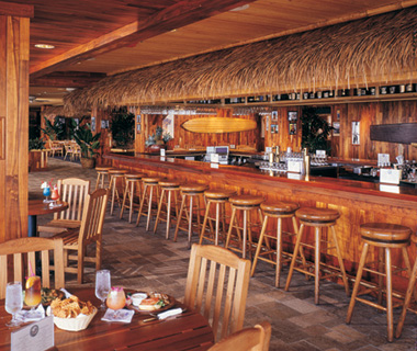 The Barefoot Bar, Duke's, Waikiki Beach, HI