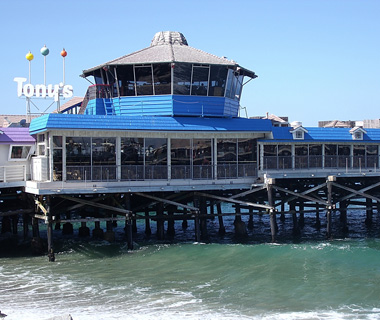 Old Tony's Bar, Redondo Beach Pier, CA