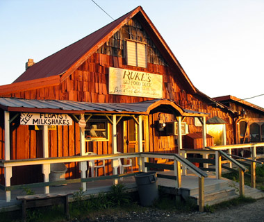 Ruke's Store & Seafood Deck