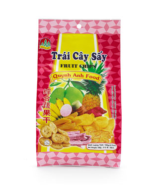 fruit chips from Vietnam