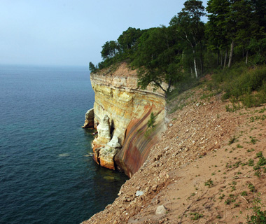 The North Country Trail, Pictured Rocks National Lakeshore