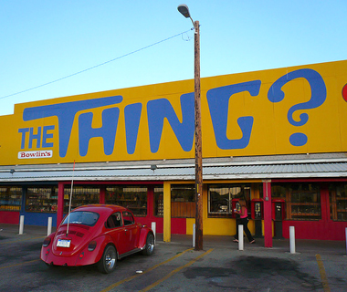 The Thing?, Dragoon, AZ