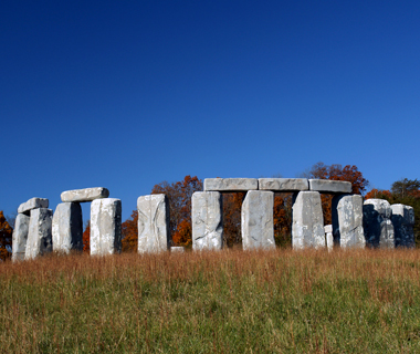 Foamhenge, Natural Bridge, VA